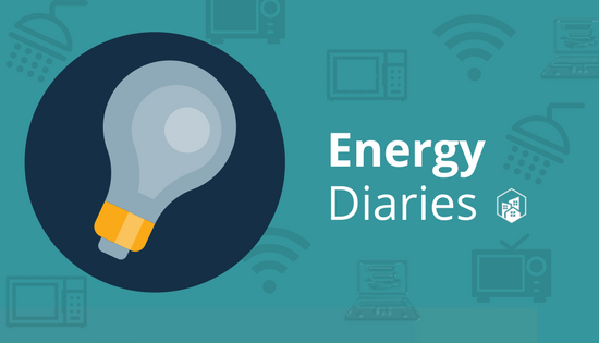 Energy Diaries: 34 kWh per day