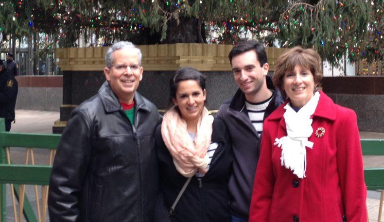 The Energy Evolution of the Rockefeller Center Christmas Tree