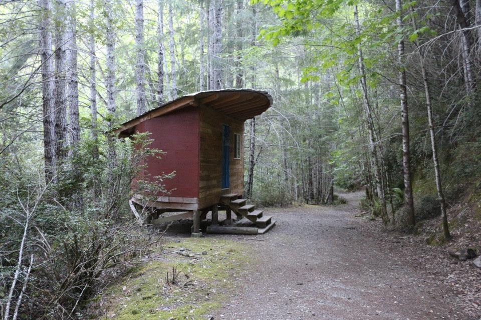 Half Moon hut