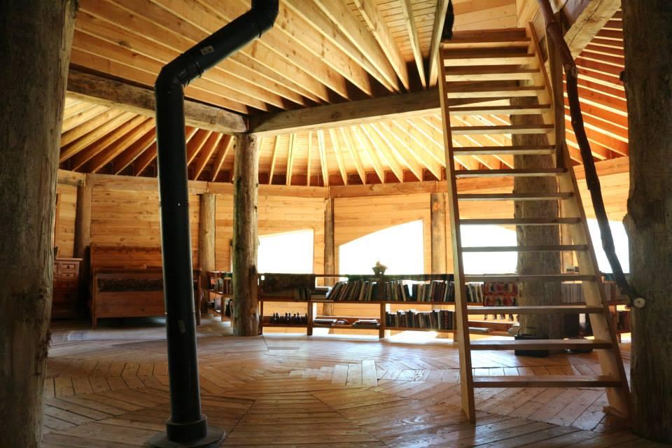 Inside Community Center