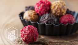 Easy Valentine's Day Truffles