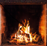 make sure heat isn't escaping from your fireplace.