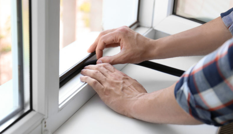 A guide to weatherstripping doors and windows