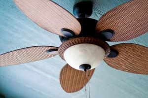 Ceiling fans can keep you cool without raising your energy bills.