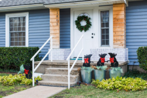 Use low-energy decorations to save on your energy bills.