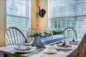 Indoor holiday decor can be energy efficient, too.