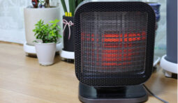 Is it better to use a space heater or turn up your thermostat?